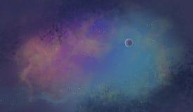 Sternenklare Himmel Lizenzfreies Stockfoto