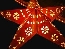 Sternenklare Laterne Stockfotos