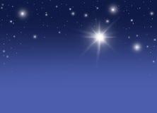 Sternenklare Nacht Lizenzfreie Stockbilder
