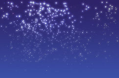 Sternenklare Nacht Stockfoto