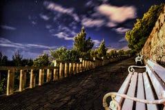 Sternenklare Nacht Stockbilder