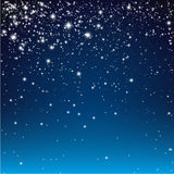 Sternenklare Nacht BG Lizenzfreies Stockbild