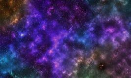 sternenklare Nacht sky-1 des Hintergrundes Lizenzfreie Stockfotografie