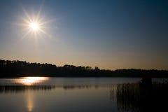 Sternenklare Sonne Stockfotografie