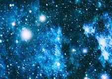Sternenklare Weltraumhintergrundbeschaffenheit Abstrakte natürliche Hintergründe Stockbilder