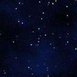 Sternenklarer Himmel. Stockbild