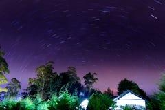Sternenklarer Himmel Lizenzfreies Stockfoto
