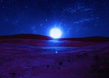 Sternenklarer Himmel Stockfotografie
