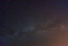 Sternenklarer Himmel lizenzfreies stockbild