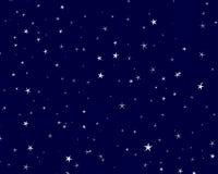 Sternenklarer Himmel vektor abbildung