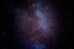 Sternenklarer Himmel in Belize Stockbild