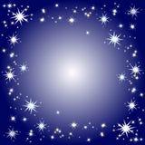 Sternenklarer Hintergrund Stockbild
