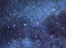 Sternenklarer Hintergrund Lizenzfreies Stockfoto