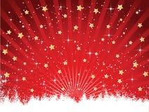 Sternenklarer Hintergrund stock abbildung