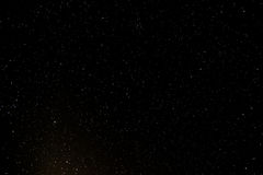 Sternenklarer nächtlicher Himmel lizenzfreie stockfotografie