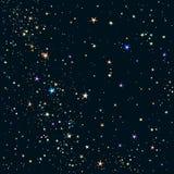 Sternenklares Feld stock abbildung