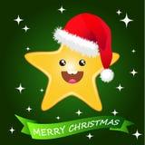 Sternenklares Weihnachten Lizenzfreies Stockbild