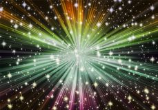 Sternexplosion stock abbildung