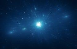 Sternexplosions-Zeitreise Lizenzfreie Stockfotografie