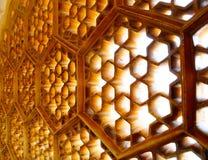 Sternförmige Fenster Stockfotografie