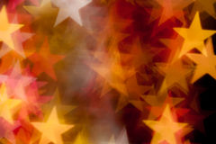 Sternform als Hintergrund Stockfotos