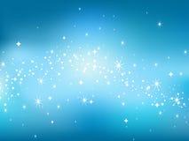Sternhimmel backgaround. lizenzfreie abbildung