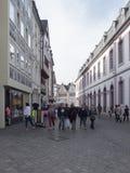 Sternstrase, Trier Royalty-vrije Stock Afbeeldingen