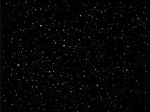 Sternvektornächtlicher Himmel stock abbildung