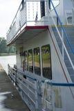 Sternwheel łódkowaty boczny widok zdjęcie royalty free