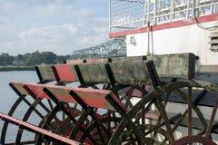 Sternwheel-Paddeldetail stockbild