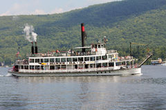 Sternwheel steamboat. Stock Photo