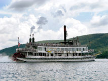 Sternwheel steamboat Royalty Free Stock Images