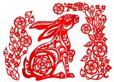 Sternzeichen für Jahr des Kaninchens Lizenzfreie Stockfotografie