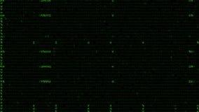 Sternzeichen-Hintergrund in einer Matrix-Art stock abbildung