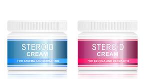 Steroid cream. Royalty Free Stock Photos