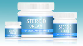 Steroid cream. Stock Photo