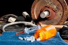Steroidi e sport Immagini Stock Libere da Diritti