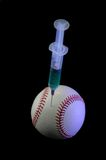 Steroids and Baseball Royalty Free Stock Image