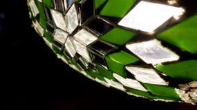 Sterontwerp in Glas Stock Afbeelding