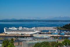 Sterprinses Cruise Ship Stock Foto's