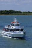 Sterrelichtcharter Vissersboot in Oerwoud, New Jersey Royalty-vrije Stock Afbeeldingen