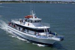Sterrelichtcharter Vissersboot in Oerwoud, New Jersey Royalty-vrije Stock Afbeelding