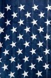 Sterren die van de vlag van de V.S. verticaal hangen stock afbeeldingen