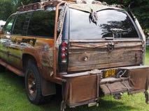Sterren en Strepen Amerikaanse Auto Royalty-vrije Stock Afbeelding