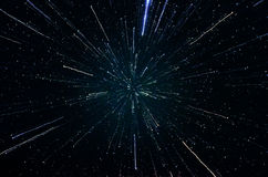 Sterren en van de de hemelnacht van de melkwegkosmische ruimte het heelalachtergrond Stock Fotografie