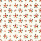 Sterren op een licht naadloos patroon als achtergrond Royalty-vrije Stock Afbeelding