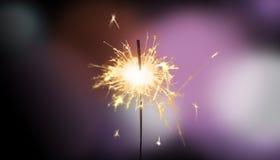 Sterretje - Nieuwjaar/Nieuwjaar ` s Vooravond/viering stock foto
