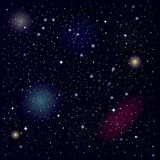 Sterrige hemel vector illustratie