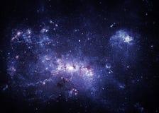 Sterrige hemel Stock Afbeeldingen