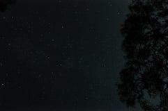Sterrige Nacht Yanartas Stock Foto